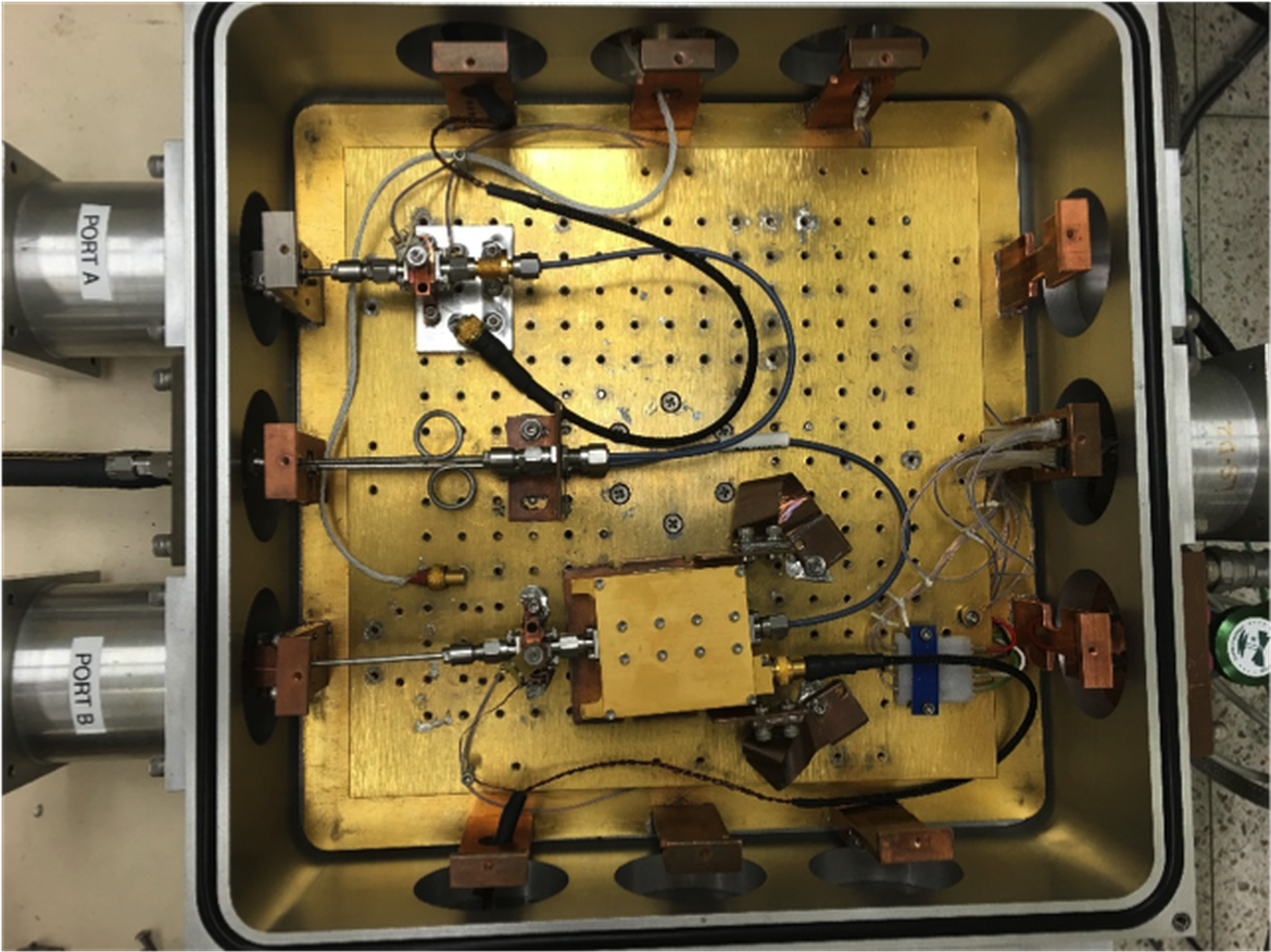 S/X-band Cryogenic Amplifier Testbed