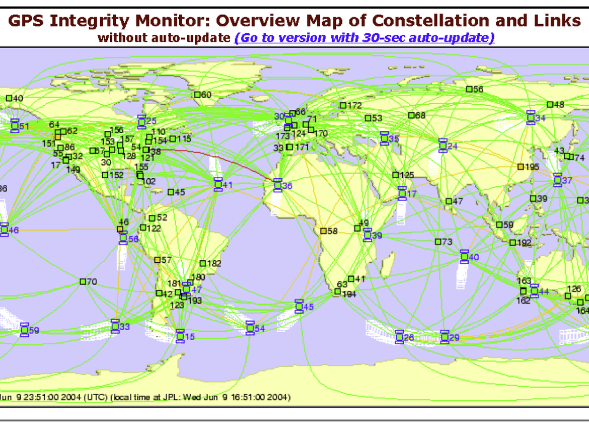 global tracking infrastructure