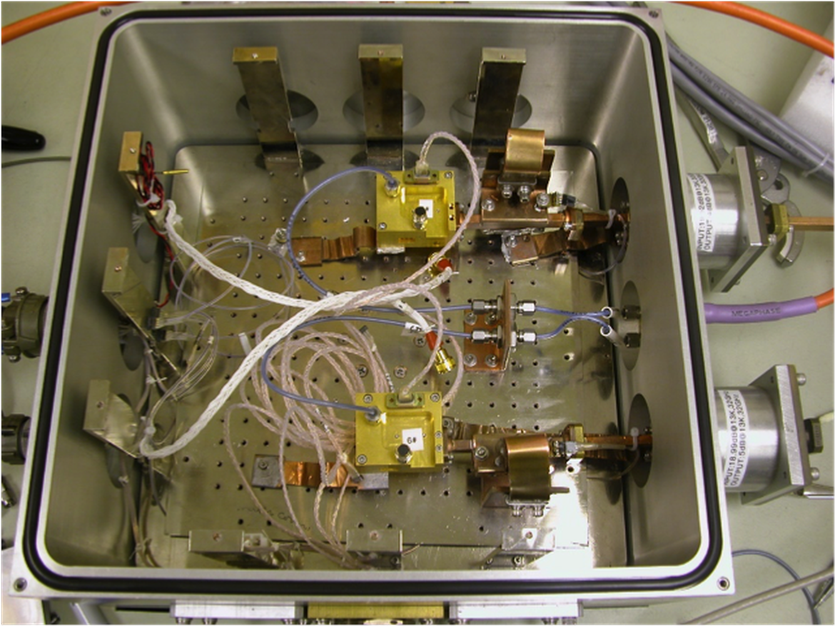 Ka-band Cryogenic Amplifier Testbed